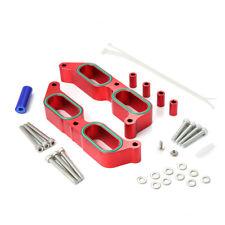 Billet Aluminum Power Block Intake Manifold Spacer for Subaru BRZ Scion FR-S Red