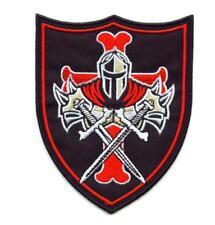 Aufnäher Templerkreuz Tempelritter Templer Ritter Patch Knights Templar