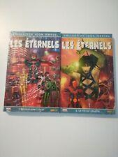 100% Marvel  Les eternels tome 1 et 2 - Rare en neuf
