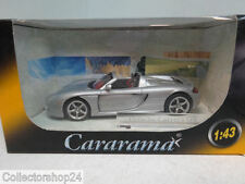 Cararama : Porsche Carrera GT Zilver scale 1:43 New art.No P7654