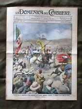 La Domenica del Corriere 17 Maggio 1914 Indigeni Terremoto Acireale Decorazioni