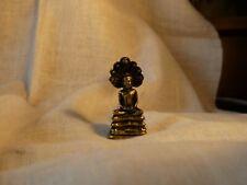 Buddha Budda Buda Budah Goa Miniatur Figur 3,40 cm hoch - 1,70 cm breit (9)