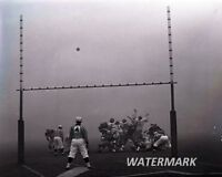 CFL 1962 50th Grey Cup Fog Bowl Game Action Black & White 8 X 10 Photo Free Ship