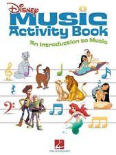 DISNEY MUSIC ACTIVITY BOOK PIANO GUITAR KEYBOARD VOCAL SHEET MUSIC SONG BOOK