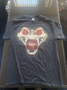 "WWF Stone Cold Steve Austin ""Don't Trust Anybody"" T-Shirt Size Medium REPRINT"