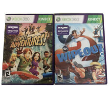 Xbox 360 Kinect Game Bundle 2 Games Wipeout Kinect Adventures Tested
