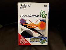 Roland Sound Canvas DB SCD-10 SCB-7 GM Daughter Board NEW Old Stock!
