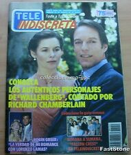 TELE-INDISCRETA Nº154 RICHARD CHAMBERLAIN ALICE KRIGE WALLENBERG '88 DANA SPARKS