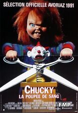 CHILD'S PLAY - CHUCKY / DOLLS - ORIGINAL SMALL FRENCH MOVIE POSTER