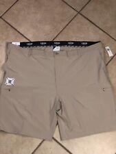 IZOD Golf Swingflex Shorts Khaki 4 Way Stretch Waistband Big n Tall Size 54 NWT