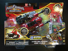 POWER RANGERS MEGAFORCE RED RANGER ZORD BNIB combines with megazord