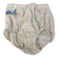 NWT Vintage Sports Coverage of CA Lined BRIEF PANTIES Sports/Tennis 5 White