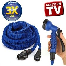 TUBO MAGICO DA GIARDINO ALLUNGABILE MAGIC HOSE PER INNAFFIARE ESTENSIBILE
