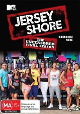 JERSEY SHORE - UNCENSORED FINAL SEASON - SEASON SIX 6 - SEALED DVD NEW