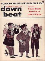 Down Beat October 16 1958 John Coltrane VG 081016DBE