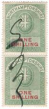 (I.B) Northamptonshire Revenue : Court Fees 1/- (1882)