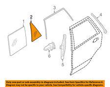 Bmw Oem 14-16 X5 Glass-Rear Door-Fixed Window Left 51357289683
