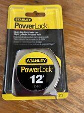 """Stanley 33-212 12'x1/2"""" PowerLock Tape Rule"""