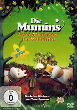 DOPPEL-DVD NEU/OVP - Die Mumins - Zwei Abenteuer im Mumintal