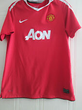 Manchester United 2011-2012 Home Football Shirt Size XL kids Boys /39774