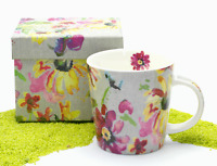 PPD Trend Mug Becher Porzellan Pretty Blossom (Blume Blüte) 350 ml
