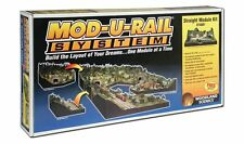 Woodland Scenics ST4801, HO or N Scale Mod-U-Rail System Straight Layout Kit