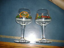 "set of (2) De Leyerth Brewery ""Urthel BOCK"" beer glasses-NEW!"