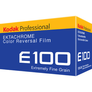 10 x Rolls KODAK EKTACHROME 100 Color Slide Film--35mm/36 exps--expiry: 01/2021