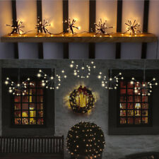 5 Starburst Cluster 100LED Light Christmas All Year Round Indoor Outdoor Festive