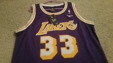 b4b3b38a436 Reebok Los Angeles Lakers Kareem Abdul-Jabbar Throwback Swingman Jersey Size  L