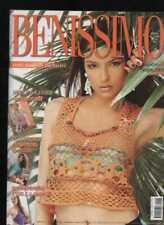 BENISSIMO moda tutti i modelli esclusivi giugno 2009cotone rustico stili e linee