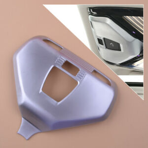 Front Reading Lamp Light Cover Trim Sticker Decal fit for BMW 5 7 6 GT 2018 ti