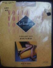 Large Le Bourget Paris Voilance 15 Denier Satine Tights T3 colour >'The '(Tea)