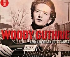 Woody Guthrie and American Folk Giants by Woody Guthrie NEW! 3 CDS ,60 TRACKS
