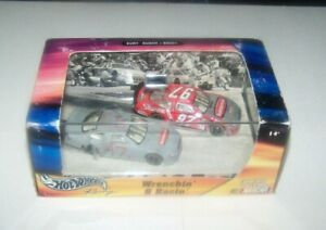 2002 Hot Wheels Limited Edition Kurt Busch #97 Wrenchin' & Racin' 2 Car Nascar