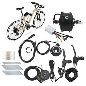 36V 250W Durable Hub Motor E‑Bicycle Conversion Kit +Meter for 24 Inch 12G Wheel
