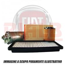 Kit 3 Filtri Bosch Abitacolo/Aria/Olio per Fiat Panda 1.2 Natural Power - 44 kw