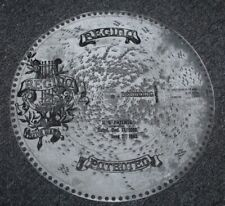 "Antique Regina Music Box Disc 5 1/2"" My Sweetheart Is The Man In The Moon #1210"
