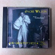 Jackie Wilson CD - Timeless   Brand New   30 Tracks on Sound Hound