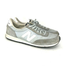 New Balance Womens 410 Classic WL410VID Gray Suede Athletic Running Shoes Size 7