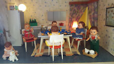 Küchenmöbel für Puppenstube / Puppenhaus DDR Style - Ostalgie