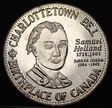 Charlottetown Canada 125th Anniversary Trade Token Dollar 1980~UNC~Free Shipping