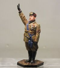 Painted Tin Toy Soldier Benito Mussolini 54mm 1/32