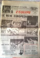 L'Equipe Journal 13/12/1985; Nantes; le rêve européen/ Touré/ Leconte/ M Mouton