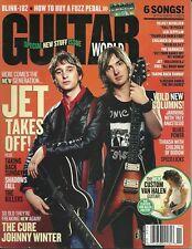 Guitar World Magazine November 2004  - Jet, Children of Bodom, Shadows Fall