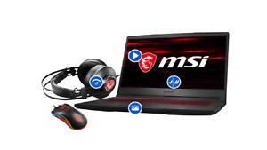 "MSI 15.6"" Intel i5-9300H 2.6GHz, 16GB, 512GB, GTX 1660 Ti Gaming Laptop Bundle"