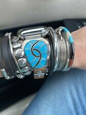 Apple Watch bands/vintage/ss/turquoise Zuni