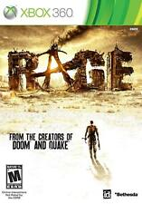 Rage Xbox One Xbox 360 Video Game Post Apocalyptic Shooter
