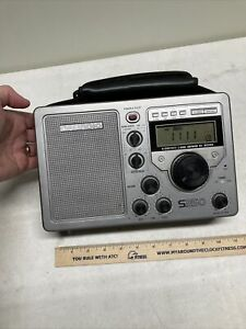 GRUNDIG S350 AM FM Shortwave SW 1 2 3 High Sensitivity World Receiver Radio Used