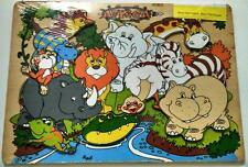 Kids Wooden Puzzles African Animals